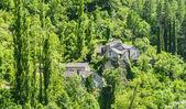 Gorges du Tarn, village — Stock Photo