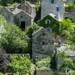 Gorges du Tarn, village — Stockfoto
