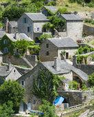 Gorges du tarn, dorp — Stockfoto