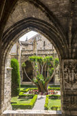 Narbona, claustro catedral — Foto de Stock