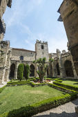 Narbonne, kathedraal klooster — Stockfoto