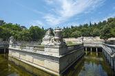 Nimes, park — Stok fotoğraf