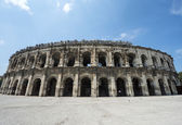 Nimes, Les Arenes — Stock Photo