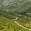 Stock Photo: Mountain landscape near Marseille