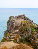 Coast of Liguria — Stock Photo
