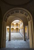 Pavía, en la cancha de la universidad — Foto de Stock