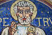 Agliate brianza, mosaico de São Pedro — Fotografia Stock