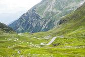 Fluela-Pass, Suisse Alps — Stock Photo