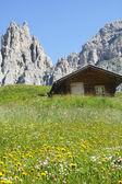 Passo Gardena, Dolomites — Stock Photo