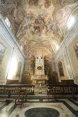 Katedrála z alba (cuneo, Itálie), vnitřní — Stock fotografie