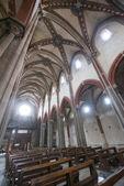 Vercelli, church of Sant'Andrea — Zdjęcie stockowe