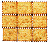 Dietary crackers — Stock Photo