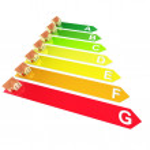 Energy Rating — Stock Photo