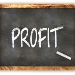 Blackboard Profit — Stock Photo #32558607