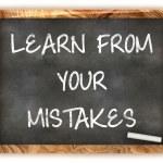 Blackboard Inspiration — Stock Photo