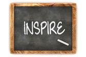 Blackboard Inspire — Stock Photo