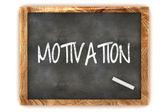 Blackboard Motivation — Stock Photo