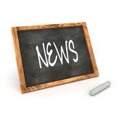 Blackboard News — Stock Photo