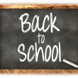 Blackboard Back to School — 图库照片