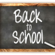 Blackboard Back to School — Stock Photo