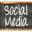 Blackboard Social Media — Stock Photo #34247363