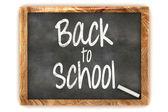 Blackboard Back to School — Stock Photo
