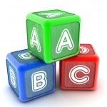 ABC Building Blocks — Stock Photo