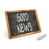Blackboard Good News — Stock Photo