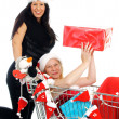 Christmas shopping — Stock Photo #12831584
