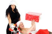 Julhandeln — Stockfoto