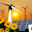 Foto de Stock  : Renewable energies