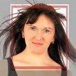 Stockfoto: Biometric face detection
