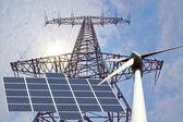 Obnovitelné zdroje energie — Stock fotografie