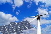 Renewable energies — Stock Photo