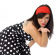 Sixties Girl - Stock Photo