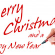 Merry Christmas and a Happy New Year — Stock Photo #14154895
