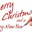 Merry Christmas and a Happy New Year — Stock Photo