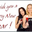Greeting Card - Happy New Year — Stock Photo #14157149