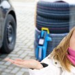 Now change tires — Stockfoto #14728779