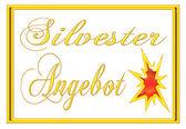 Silvester offer — Stock Photo