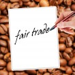 Fair trade — Stock Photo
