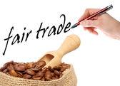 справедливая торговля — Стоковое фото