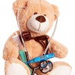 Teddy bear — Stockfoto #17384039