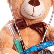 Teddy bear — Stockfoto #17384293