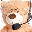 Stock Photo: Business Teddy Bear