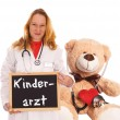 Stock Photo: Pediatrician