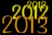 Sylvester 2012 / 2013 — Stock Photo