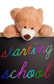 Starting school — Stock Photo