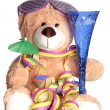 Teddy bear — Stockfoto #17838897