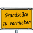 Stock Photo: German sign